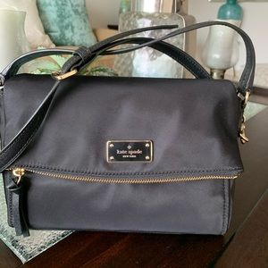Kate Spade nylon black bag